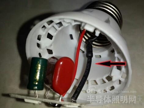 电阻小灯不亮电阻大灯亮的电路图