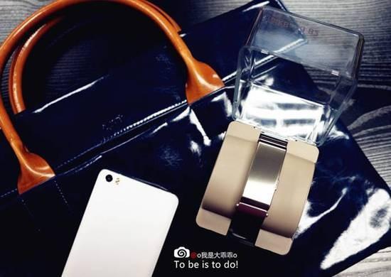 华为B2手环体验:手环耳机二合一