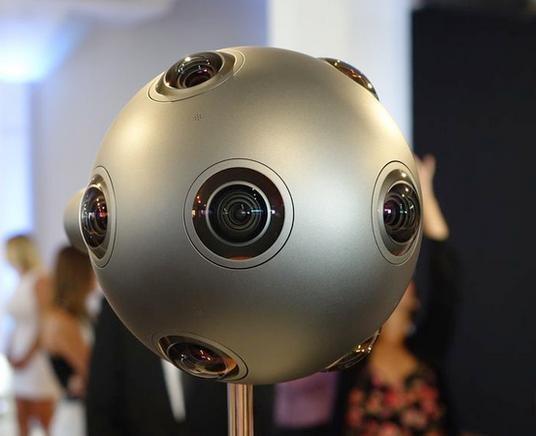 诺基亚做了个球  OZO虚拟现实设备全解析