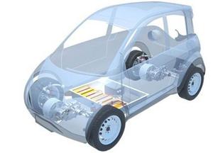 真正环保P-MOB原型电动汽车 收集储存太阳能