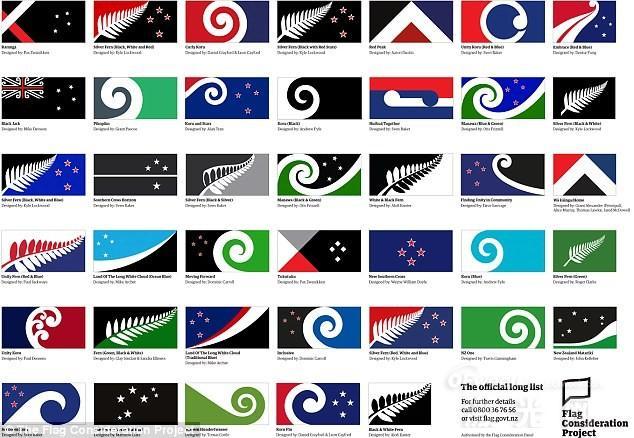 新西兰和澳大利亚的国旗几乎一模一样,唯一的区别就是星星的颜色不