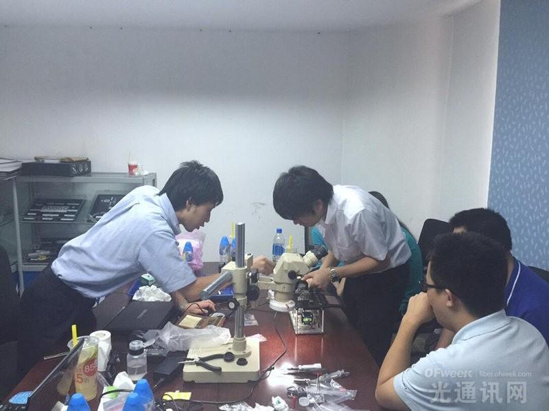 藤仓在深开展特种熔接机相关的维修培训