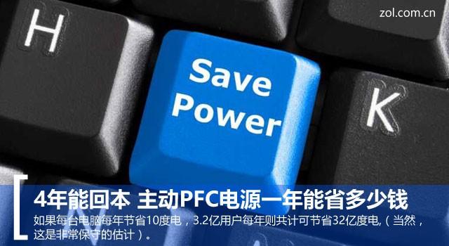 """节能减排:谈谈主动PFC电源的""""省钱之道"""""""