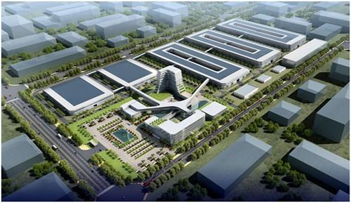 锂电池工厂开建图片