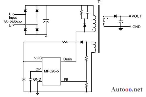 电源芯片设计电路