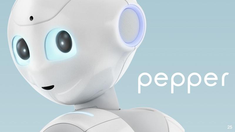 服务机器人:点亮展会的又一道风景