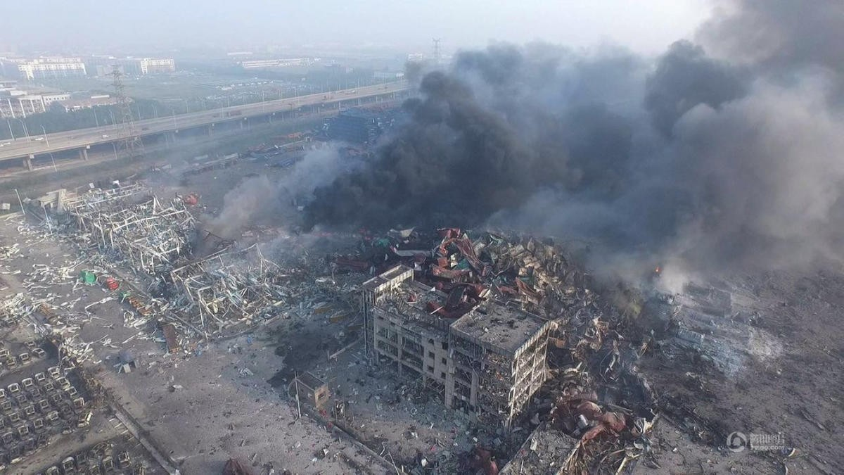 警钟长鸣 物联网让爆炸事故不再发生