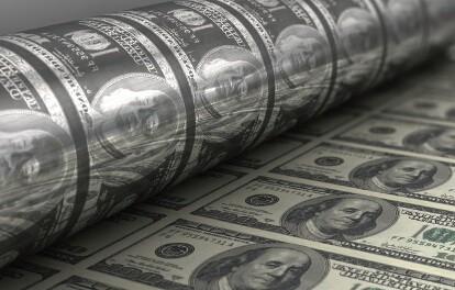 图2:用激光雕刻印刷纸币用的滚筒