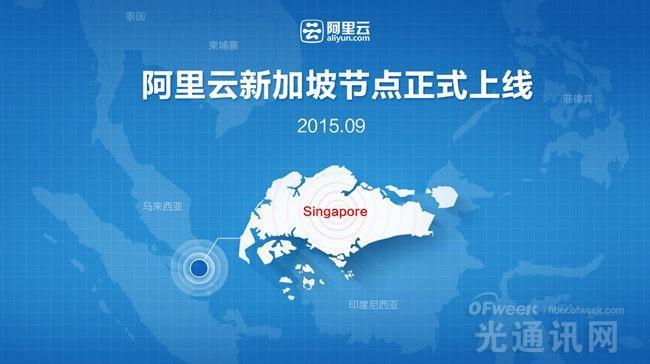 阿里云加快全球布局脚步 新加坡节点首推10余产品