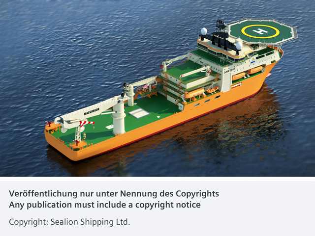 西门子电力与驱动系统助力船舶可靠、高效运行
