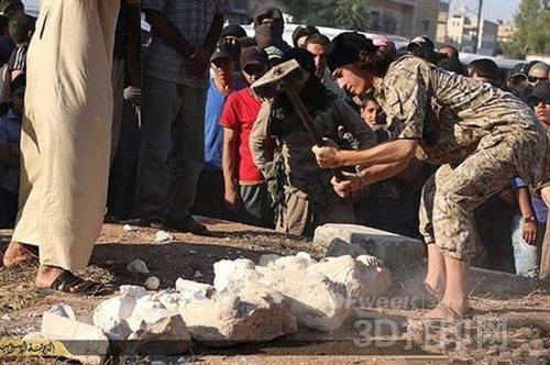 印技术 还原 伊拉克受损文物