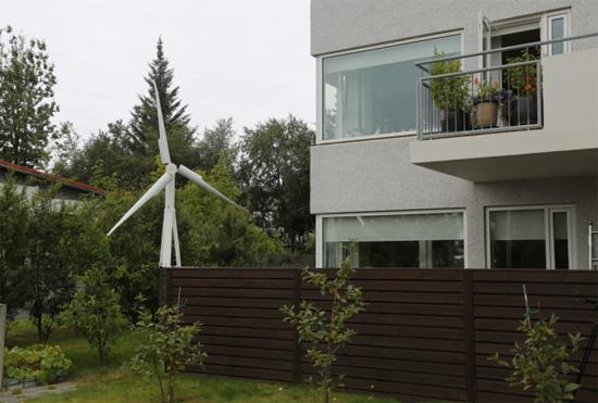 众筹平台推出迷你风力发电机Trinity
