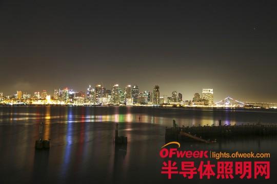 圣地亚哥部署美国第一个智能照明系统