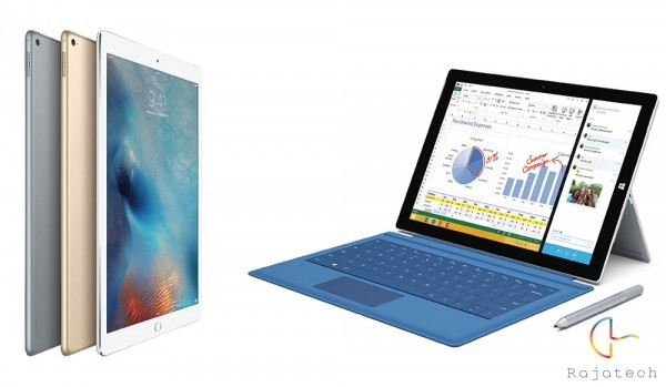 iPad Pro对比Surface Pro 3:全面抄袭or超越?