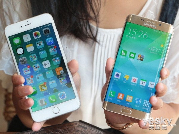 三星S6 edge+对比iPhone6 plus评测:谁是王者?