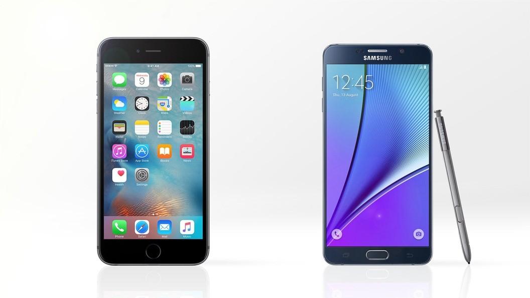 大屏抉择:苹果iPhone 6s/三星Galaxy Note5规格参数对比
