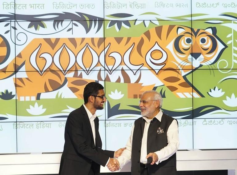 谷歌将向印度400座火车站提供免费Wi-Fi服务