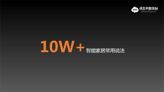科大讯飞发布全球首个汉语言智能家居语义库