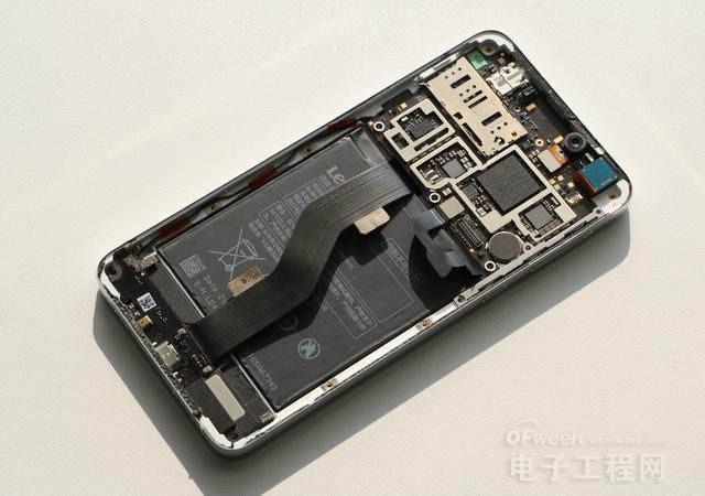 红米note手机拆机图解