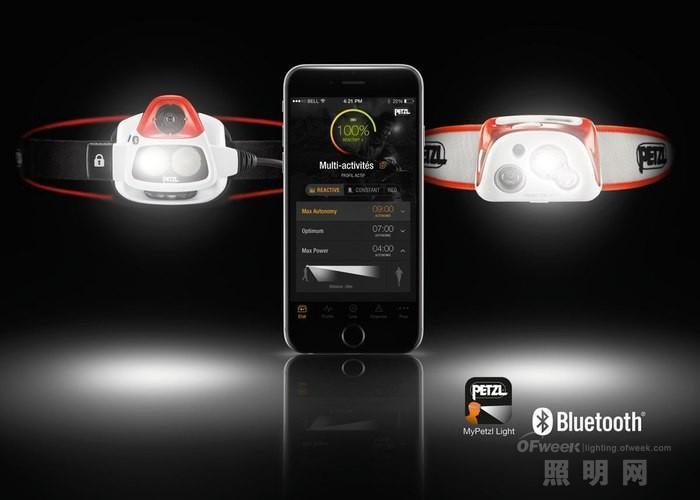 Petzl推出升级头灯Nao+:自动感应调光