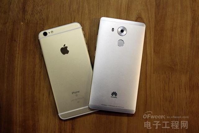 华为Mate8和苹果iPhone6sP深度对比评测:性能不相上下