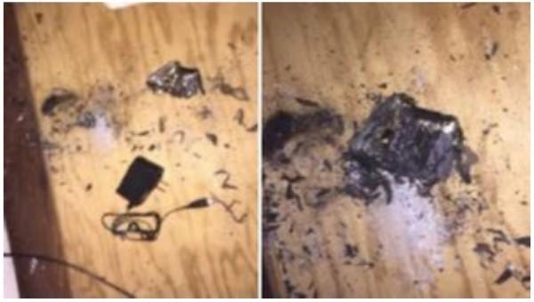 美国无人机电池充电时突然爆炸