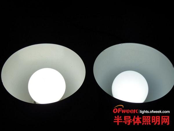 拆解并测试美的3W LED球泡灯:光色比佛山照明/朗硕的产品还好?