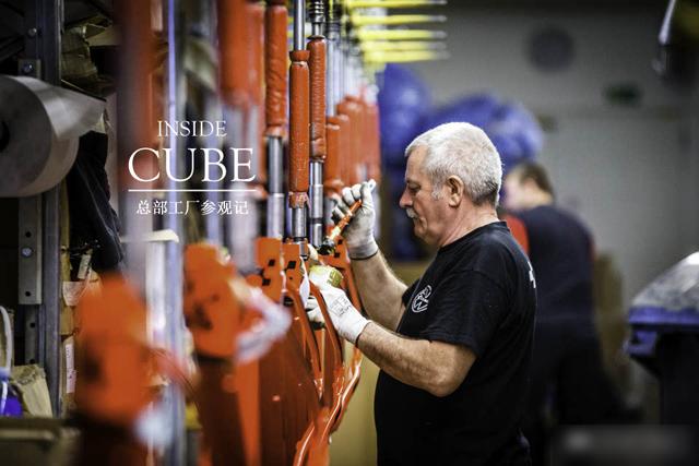 欧洲最大自行车制造商 CUBE总部工厂