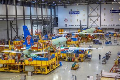全球的大飞机怎么造?看看世界一流飞机制造工厂