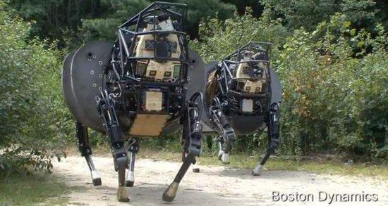 大狗机器人时间