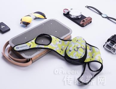 内置传感器 可检测PM2.5的云智能防霾口罩