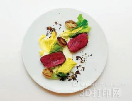 3D打印技术变革日本餐饮行业