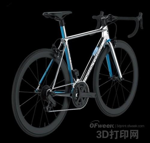 Cerevo推出3D打印物联网自行车Orbitrec