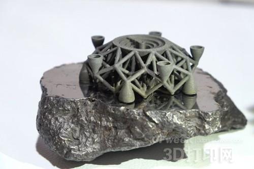 CES2016亮点:首次利用陨石金属3D打印物体