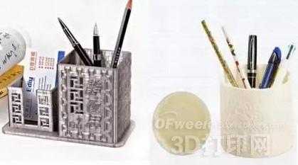 3D打印带来个性生活 笔筒也玩起花样