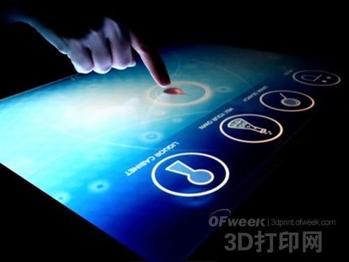 金银纳米粒子3D打印技术使触摸屏更便宜更好