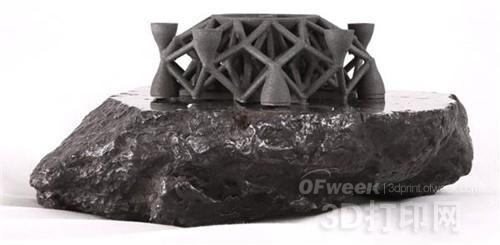 首个外星金属3D打印对象面世 开发太空资源更进一步