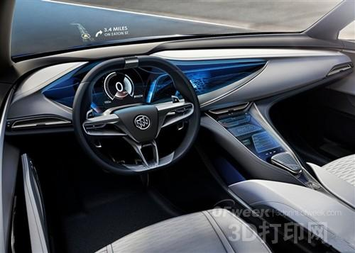 别克发布Avista概念车 采用3D打印材料