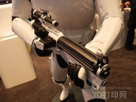 3D打印暴风兵模型再现《星球大战》场景(图)