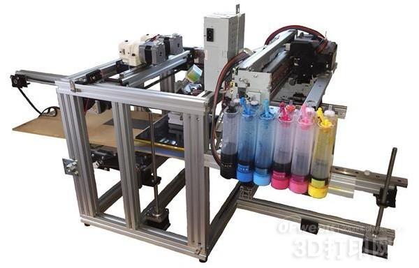 最新2D喷墨套件可实现FDM 全彩3D打印