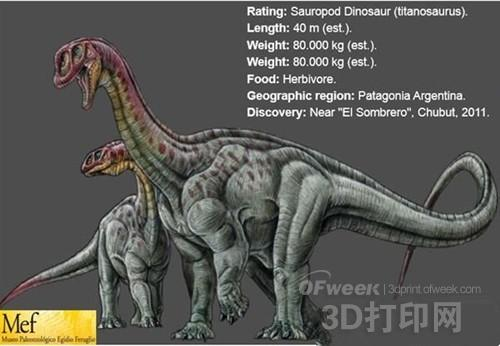 3D打印将助力BBC史上最大恐龙化石纪录片