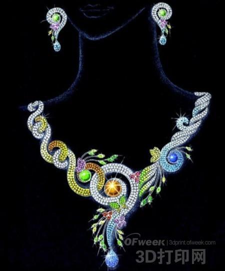 3D打印+互联网:珠宝业展开新较量