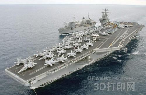 """金属3D打印成美国海军的核心""""武器"""""""