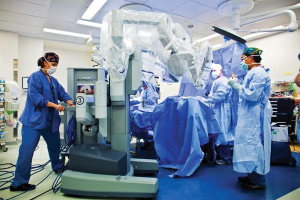 手术机器人系统在临床中的应用