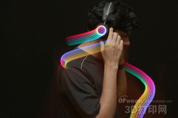 教您用LED和3D打印为耳机增加炫酷灯效