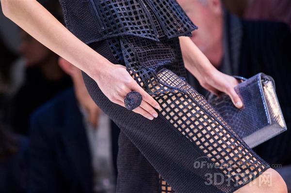 """时尚3D打印巴黎时装周再次""""风靡"""""""