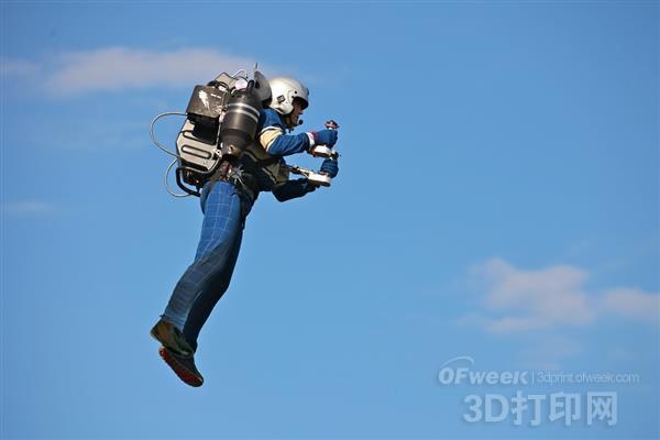 3D打印民用喷气飞行包亮相CES2016