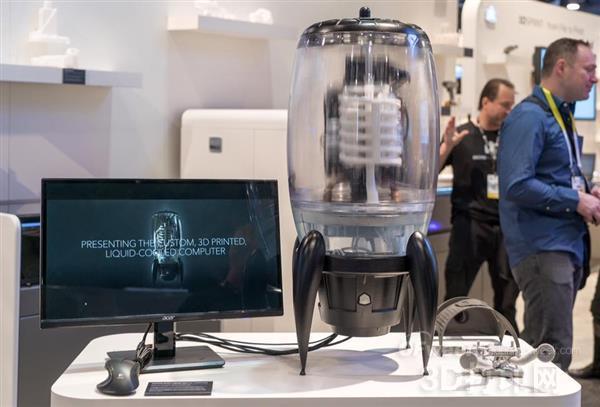 国际巨头3DSystems展示超强3D设计装备