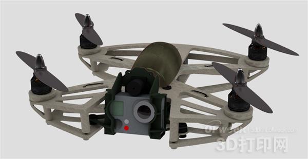 """行业新秀:3D打印无人机新市场""""大爆炸""""!"""