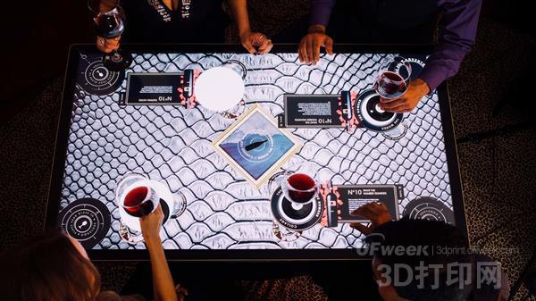 3D打印:智能杯垫创造设计新传奇!